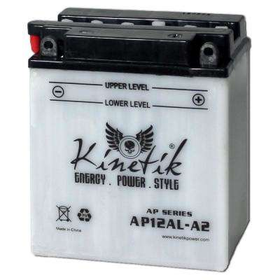 Conventional Wet Pack 12-Volt 12 Ah Capacity F Terminal Battery