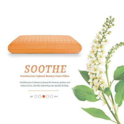 Soothe - Frankincense Infused Memory Foam Standard Pillow