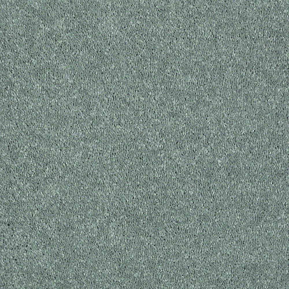 Brave Soul I - Color Sea Glass Texture 12 ft. Carpet