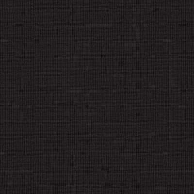 Fabric Look Black Texture Strippable Wallpaper Vinyl Strippable Roll Wallpaper (Covers 59.2 sq. ft.)