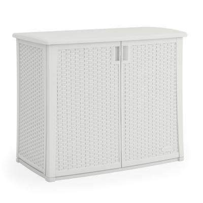 97 Gal. Resin Outdoor Patio Cabinet  sc 1 st  The Home Depot & Outdoor Storage - Sheds Garages u0026 Outdoor Storage - The Home Depot