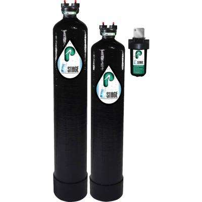 15 GPM 5-Stage Whole House Water Filtration and NaturSoft Salt-Free Softener System