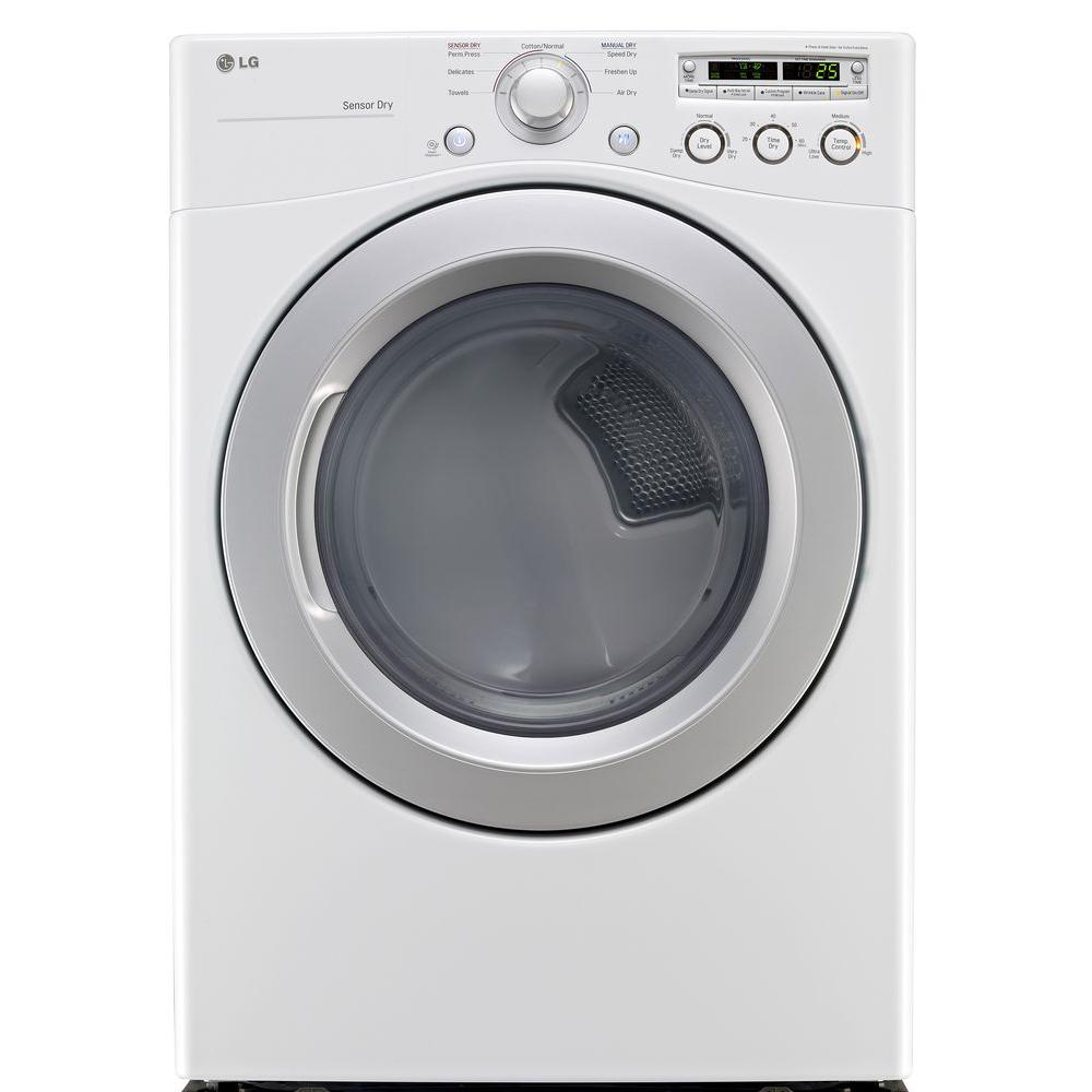 LG Electronics 7.3 cu. ft. Gas Dryer in White
