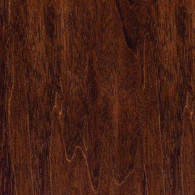 Take Home Sample - Hand Scraped Moroccan Walnut Click Lock Hardwood Flooring - 5 in. x 7 in.