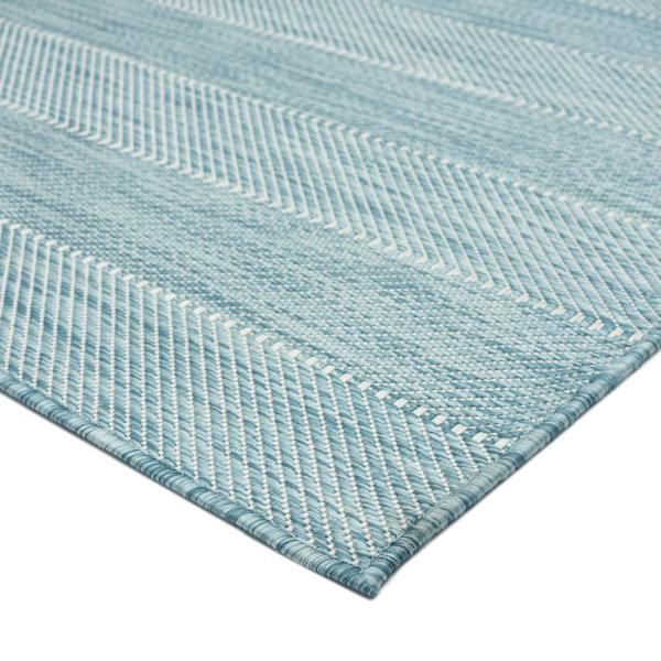 Mercer Street Rugs Aloha Mikole Spa 7 Ft 8 In X 10 Ft Indoor Outdoor Area Rug Mikol Spa 78x10 The Home Depot