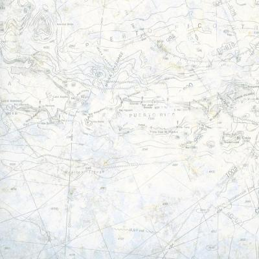 Canaveral Blue Charts Blue Wallpaper Sample