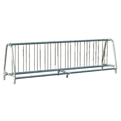 10 ft. Galvanized Commercial Park Double Sided Bike Rack Portable