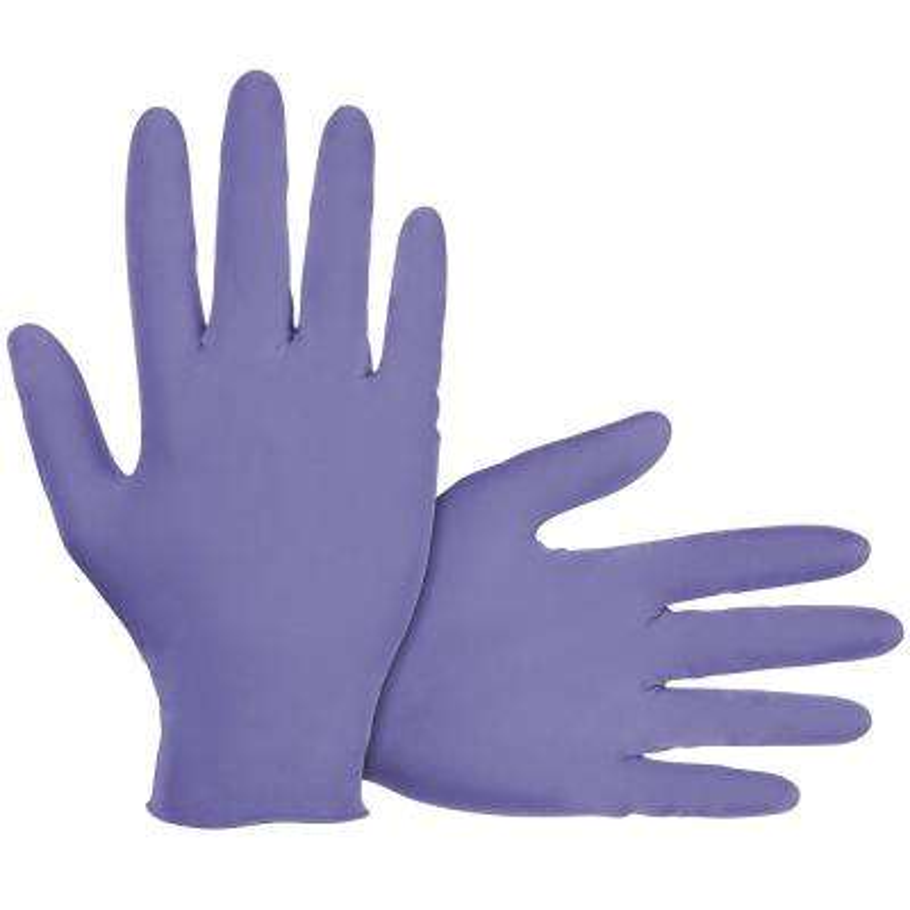 Derma-Med X-Large Powder-Free Nitrile Disposable Gloves (100-Count) (Case of 10)