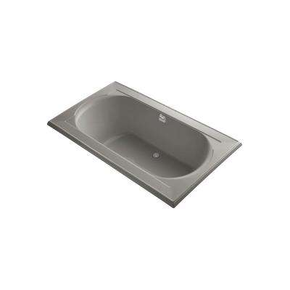 Memoirs 6 ft. Center Drain Bathtub in Cashmere