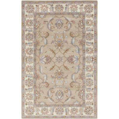 Chenni Beige 5 ft. x 8 ft. Indoor Area Rug