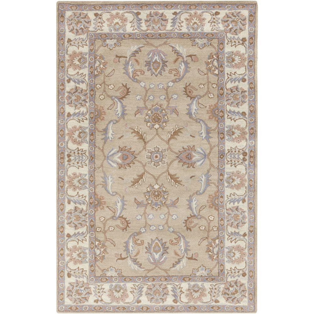 Chenni Beige 9 ft. x 12 ft. Indoor Area Rug