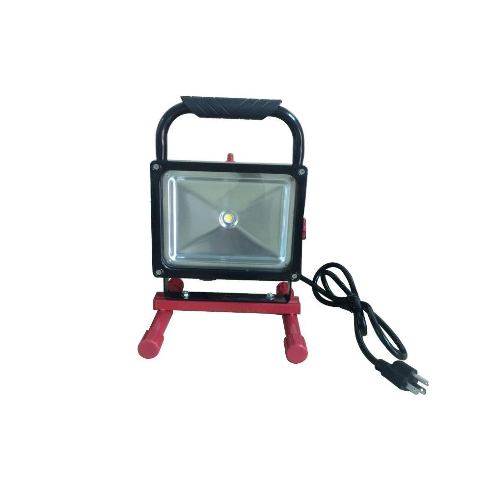 Husky 1000-Lumen LED Work Light With 5 Ft. Cord-JM