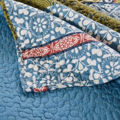 Shangri-La Multi Quilted Cotton Throw