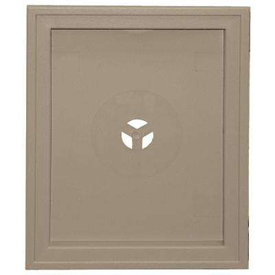 6.75 in. x 8.75 in. #095 Clay Large Recessed Universal Mounting Block