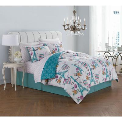Darcy 6-Piece Orchid Twin Bed in a Bag Set