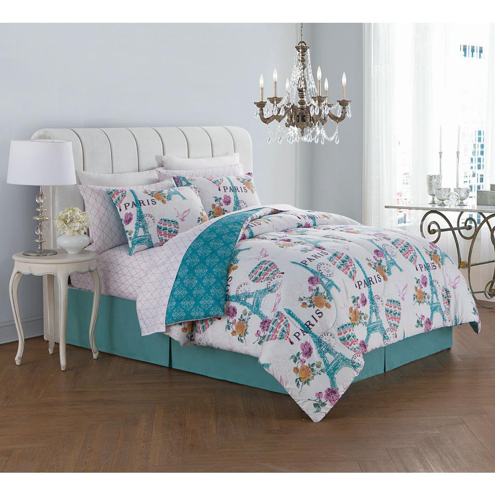 Internet 307298333 darcy 8 piece orchid queen bed