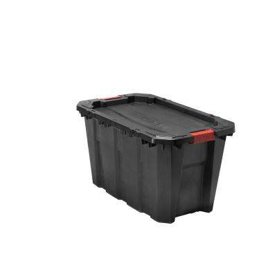 35 Gal. Latch and Stack Tote in Black