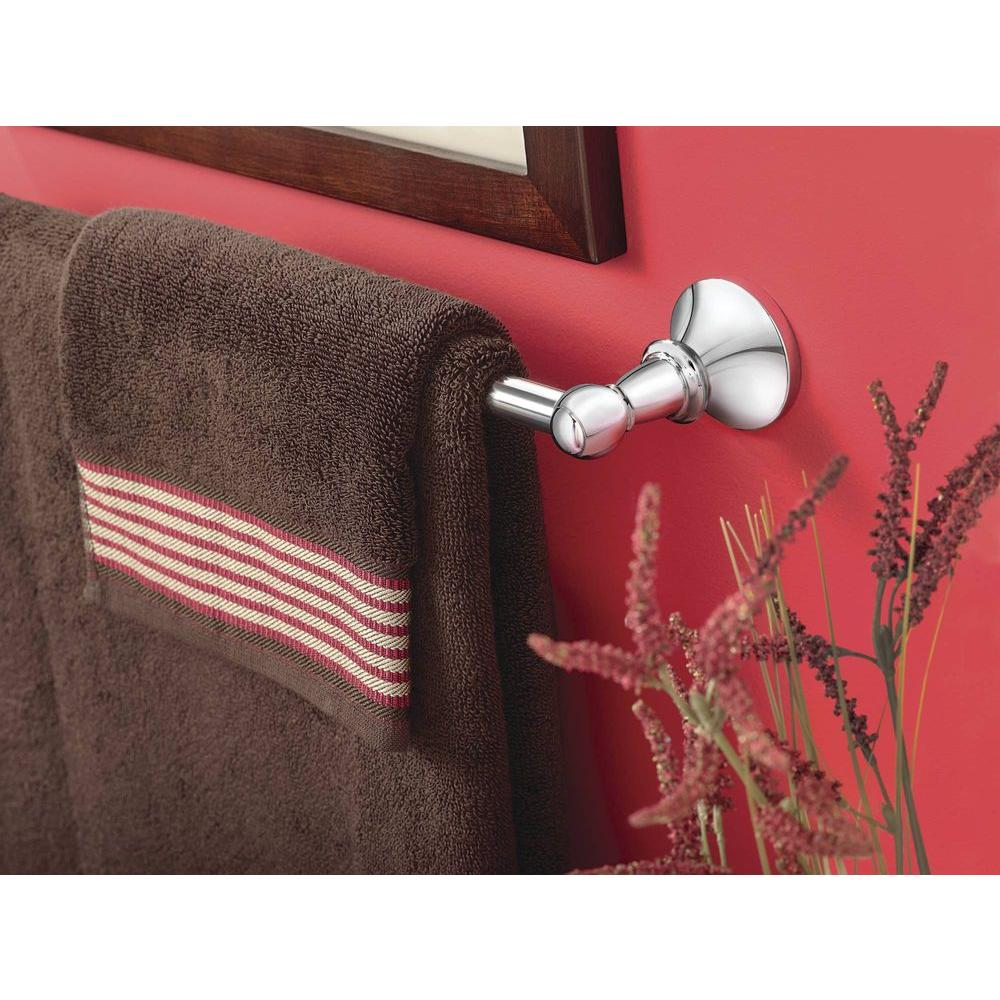 Moen Vale Vale 18 in Towel Bar in Polished Chrome DN4418CH