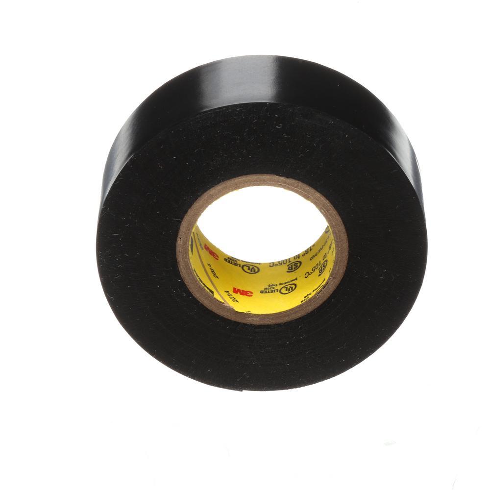 Scotch .75 in. x 37.5 ft. Electrical Tape, Black (Case of 24)