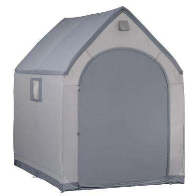 7 ft. x 6 ft. Portable Storage House Shed