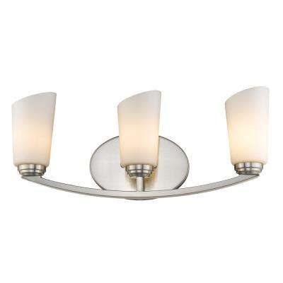 Dorset 3-Light Pewter Bath Light