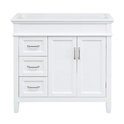 36 Inch Vanities Dovetail Drawer Construction Bathroom Vanities Without Tops Bathroom Vanities The Home Depot