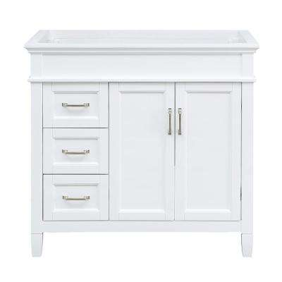 Outstanding Ashburn 36 In W X 21 75 In D Vanity Cabinet In White Download Free Architecture Designs Boapuretrmadebymaigaardcom