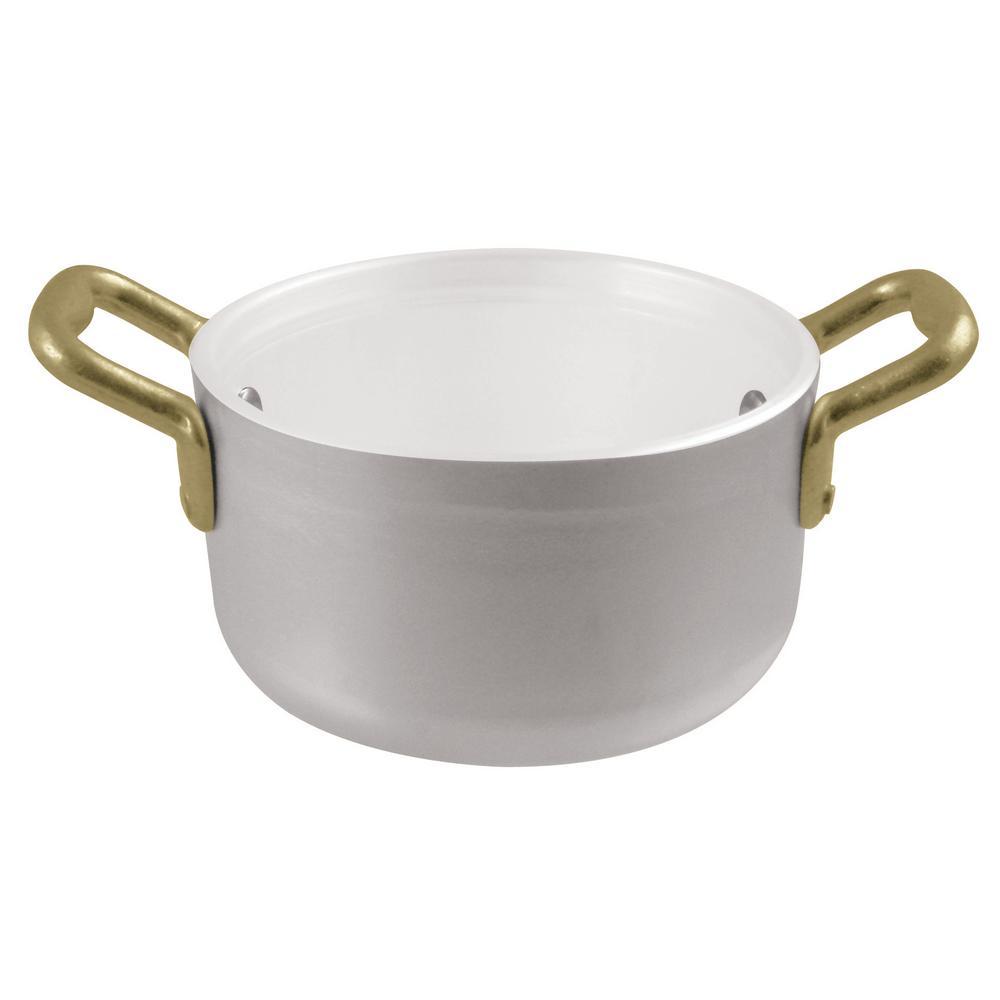 16 oz. Mini Aluminum Non-Stick Ceramic Stew Pan