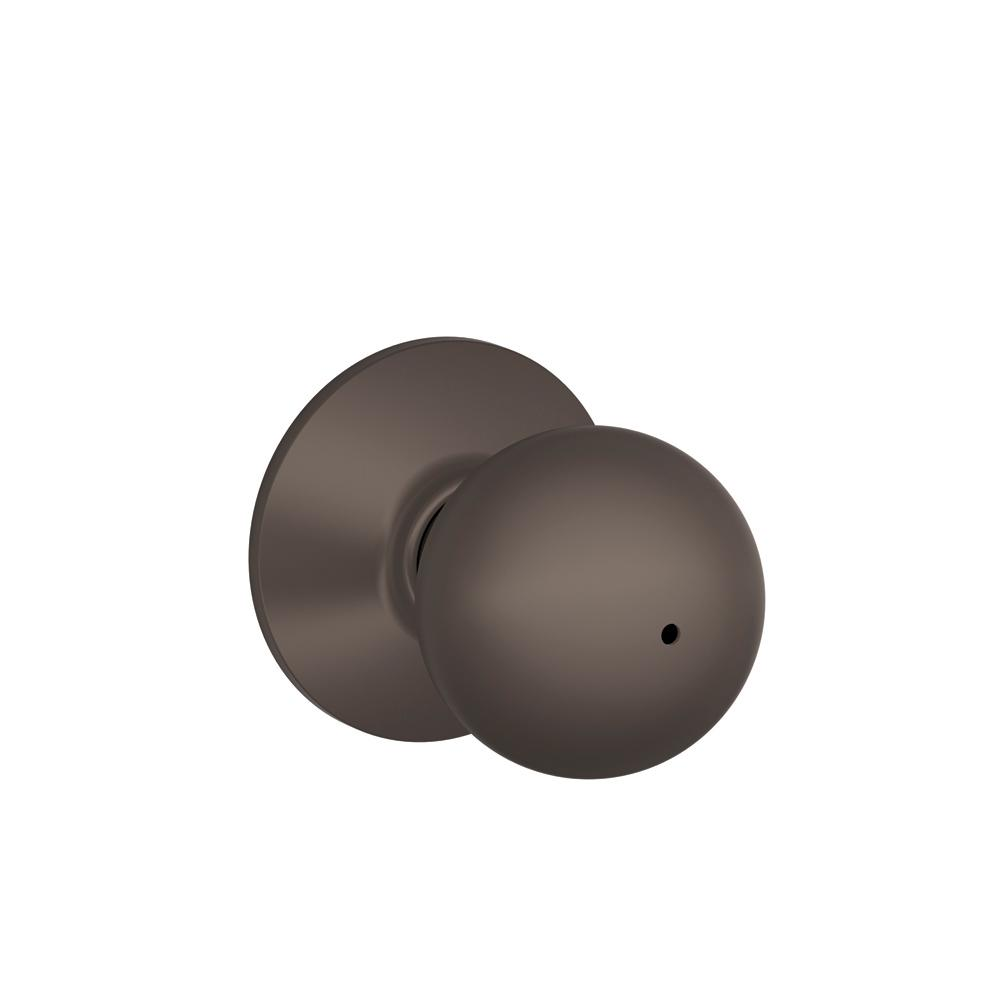 Schlage Orbit Oil Rubbed Bronze Privacy Door Knob