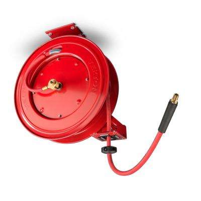 50 ft. x 3/8 in. I.D. Auto Rewind Air Hose Reel
