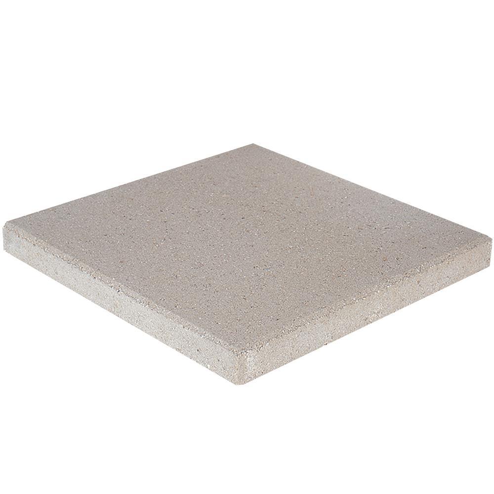 16 in. x 16 in. x 1.75 in. Limestone Square Concrete Step Stone (56-Piece/129 sq. ft./Pallet)