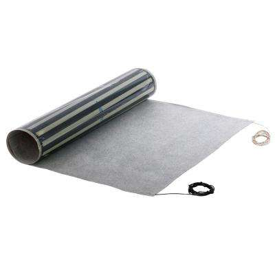 1.5 ft. x 60 in. x 0.03 in. 240-Volt Peel and Stick Radiant Heat Film for Tile and Glue-Down Floors (Covers 7.5 sq. ft.)