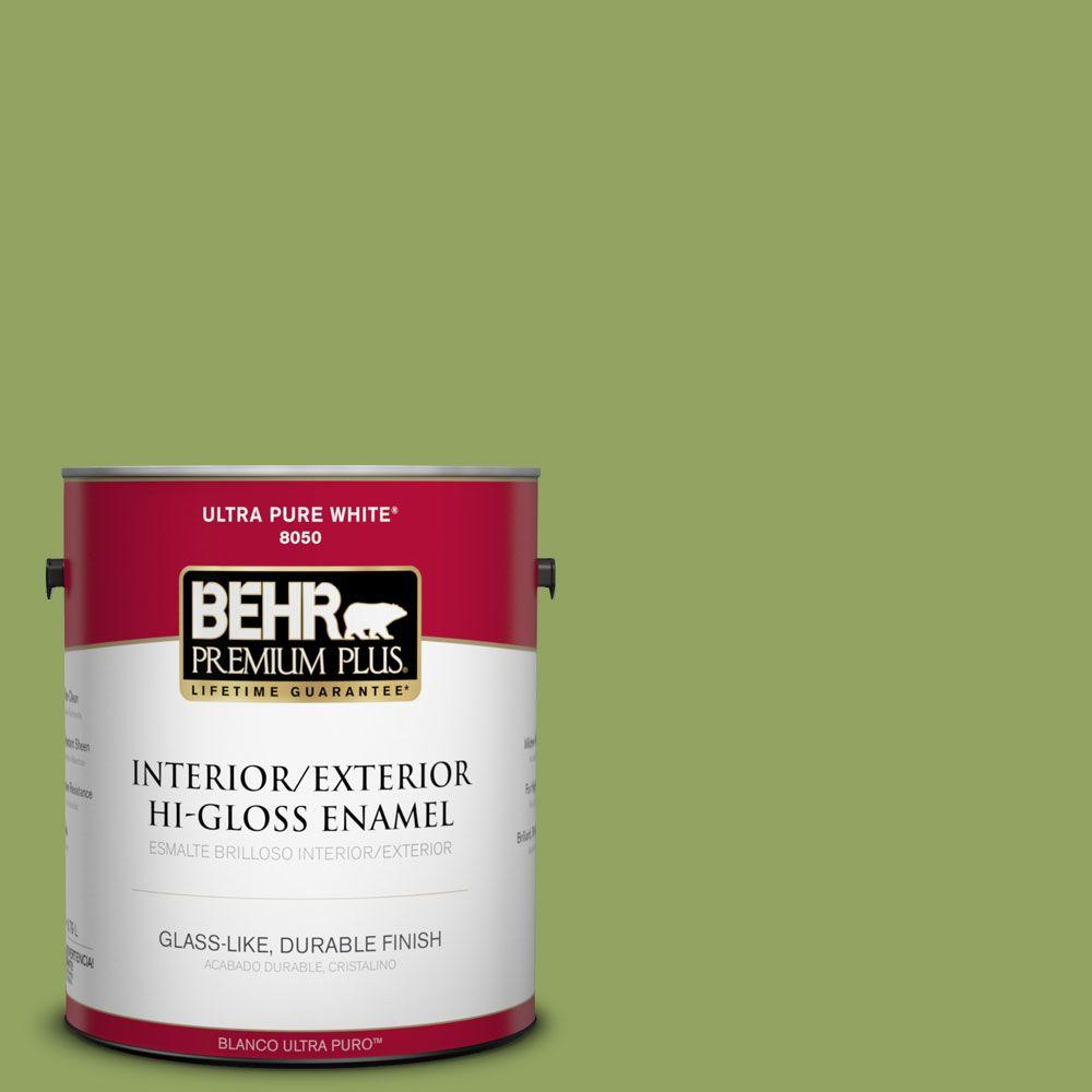 Home Decorators Collection 1-gal. #HDC-MD-15 Zesty Apple Hi-Gloss Enamel