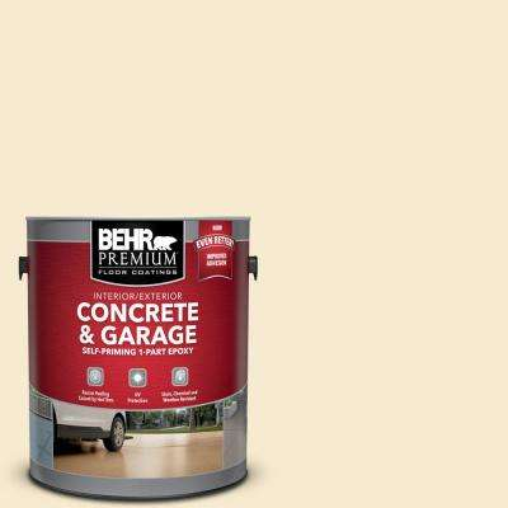 1 gal. #PFC-26 Classic Mustang Self-Priming 1-Part Epoxy Satin Interior/Exterior Concrete and Garage Floor Paint