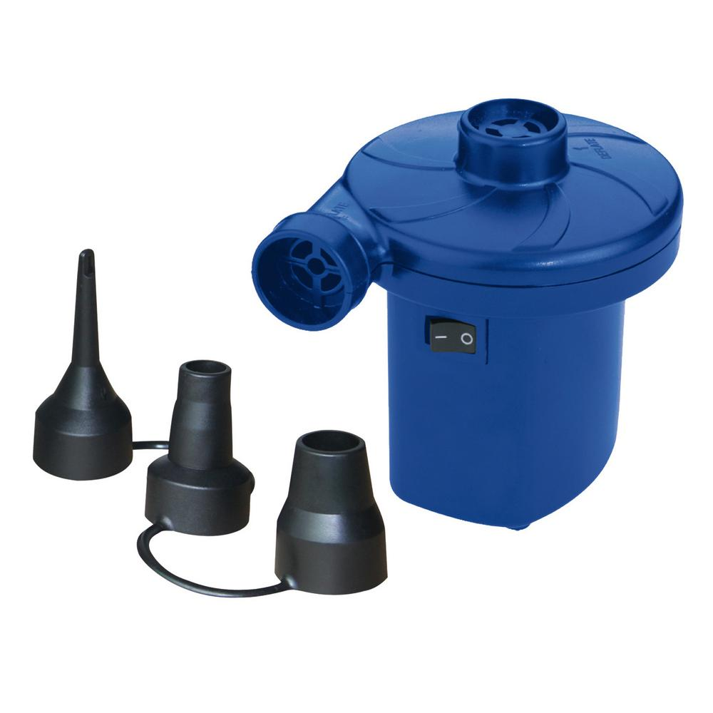 Rhino Master Twister 2-Way Electric Air Pump for Home or Car AC for  115-Volt Home Outlets or DC for 12-Volt Car Outlets