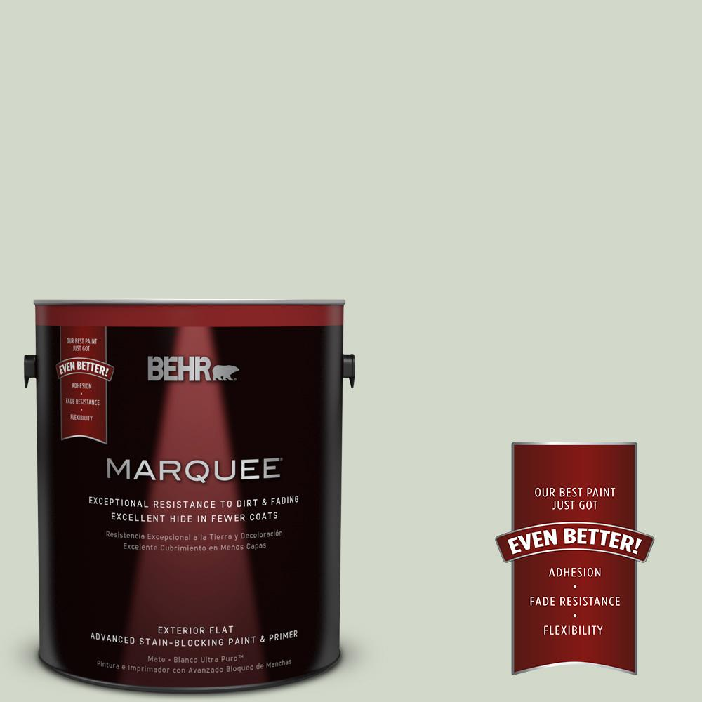 BEHR MARQUEE Home Decorators Collection 1-gal. #HDC-CT-25 Bayberry Frost Flat Exterior Paint