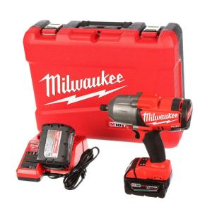 Milwaukee M18 FUEL 18-Volt Lithium-Ion Brushless 1/2 inch Cordless High Torque Impact Wrench with Pin Detent Kit by Milwaukee