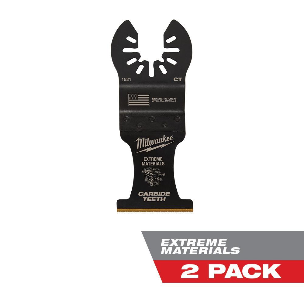 "1-3//4/"" Titanium Bi-Metal Oscillating Tool Blade Fits Older Dremel Multi-Max"