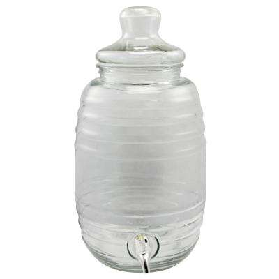 Cottage Chic 10 Qt. Clear Drink Dispenser