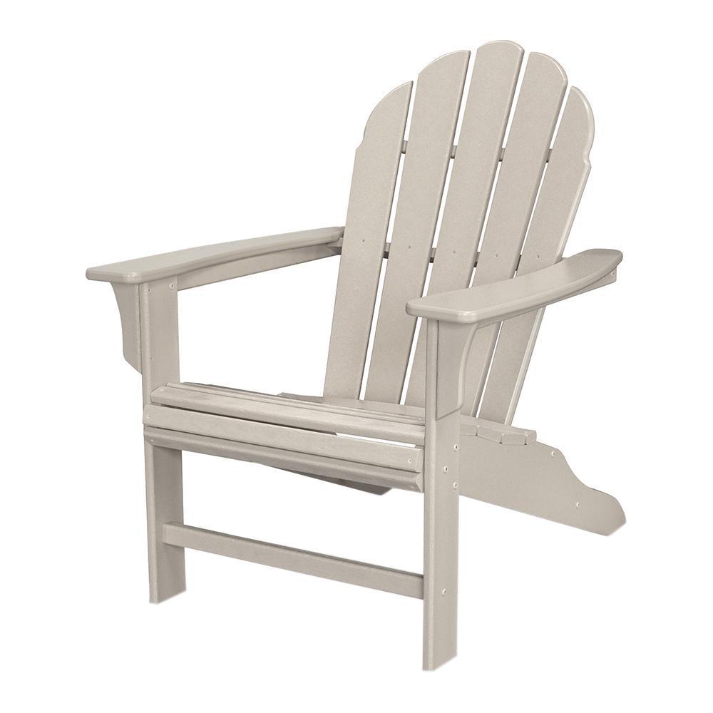 Trex Outdoor Furniture Hd Sand Castle Patio Adirondack Chair
