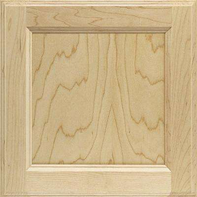 14.5x14.5 in. Cabinet Door Sample in Linden Maple Natural