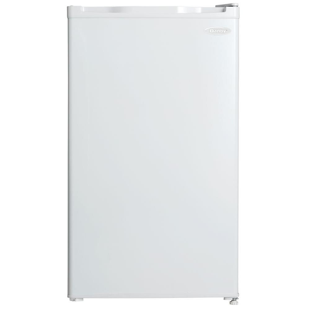 3.2 cu. ft. Mini Refrigerator in White