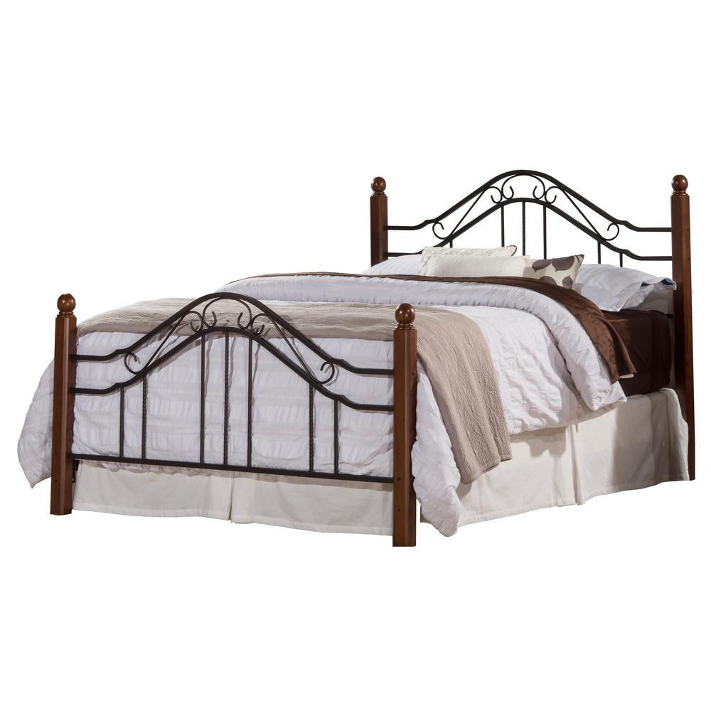Madison Textured Black Full Bed Set
