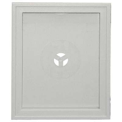 6.75 in. x 8.75 in. # 030 Paintable Large Recessed Universal Mounting Block