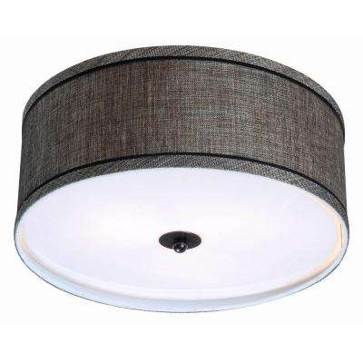 Margot 2-Light Bronze Flush Mount