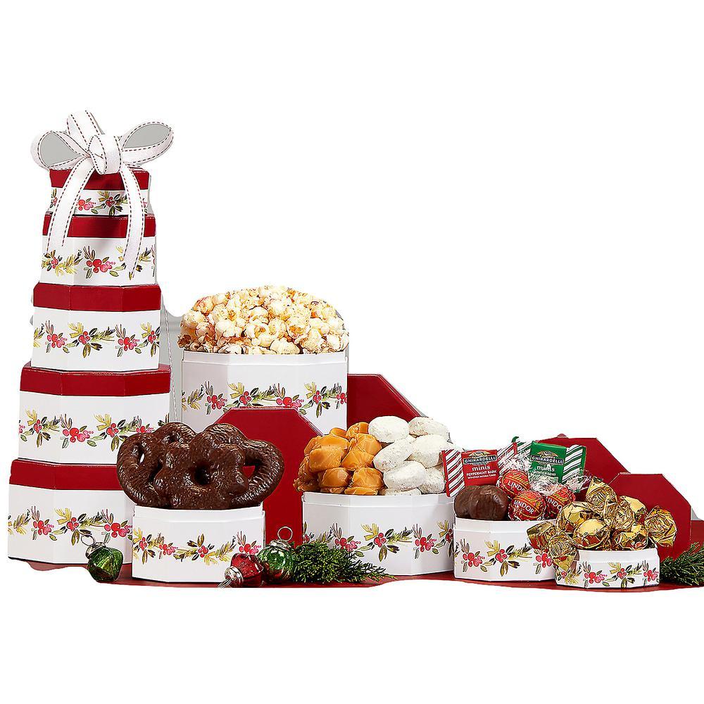 Tis the Season Holiday Gift Tower