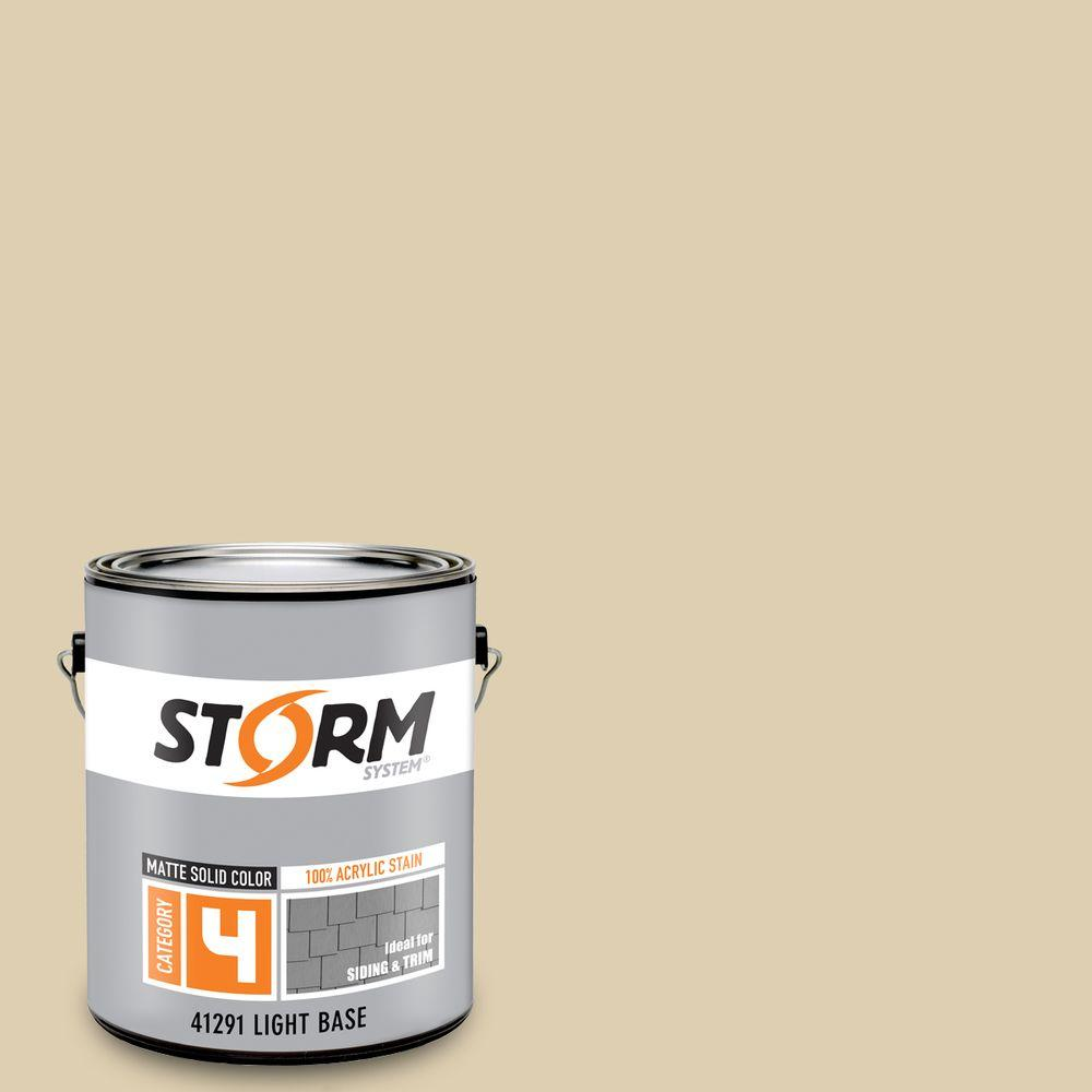 Storm System Category 4 1 gal. Sleeping Bear Dunes Matte Exterior Wood Siding 100% Acrylic Latex Stain