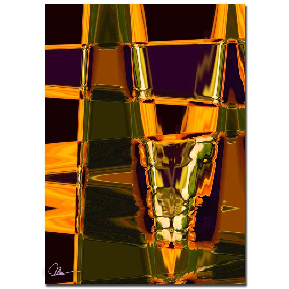 Trademark Fine Art 24 in. x 16 in. Abstract V Canvas Art