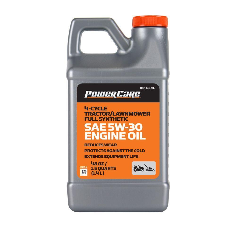5W-30 48 oz  Full Synthetic Lawnmower Oil