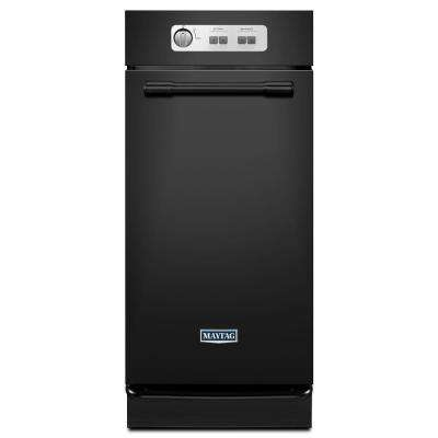 15 in. Built-In Trash Compactor in Black